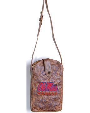 Gameday Boots University of Mississippi Crossbody Bag, Brass, hi-res