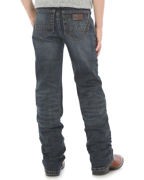 Wrangler Retro Boys' Slim Straight Jeans (8-16), Indigo, hi-res