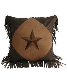 HiEnd Accents Fringe Star Pillow, Multi, hi-res