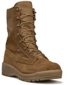 Belleville Men's C390 Hot Weather Military Boots, Coyote, hi-res