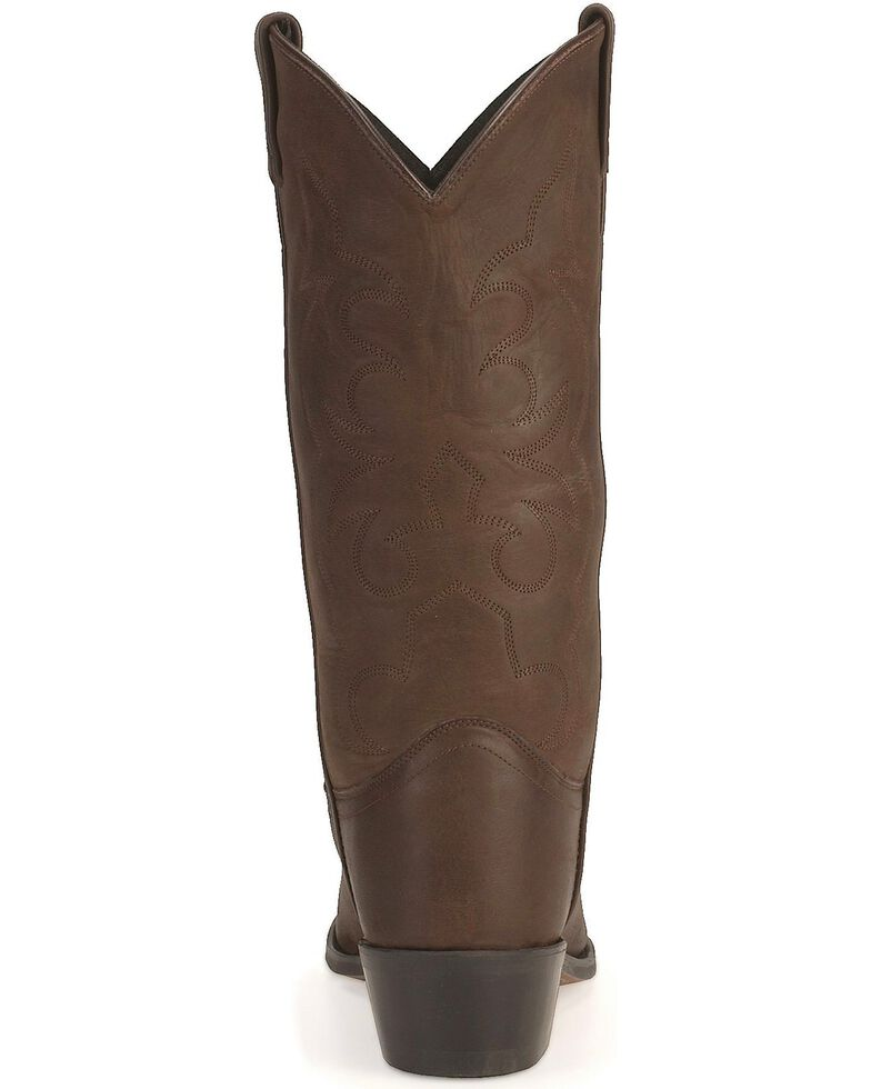 Old West Western Boots in Distressed Leather, Distressed, hi-res