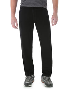 Wrangler Men's Rugged Wear Classic Fit Relaxed Jeans - Big , Black, hi-res