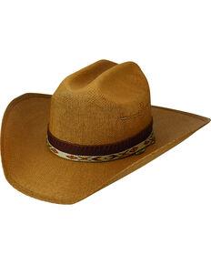 568127ccf24c9a Bailey Renegade Seminole Straw Western Hat , Tan, hi-res