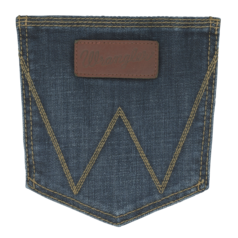 Wrangler men's retro slim fit bootcut jeans
