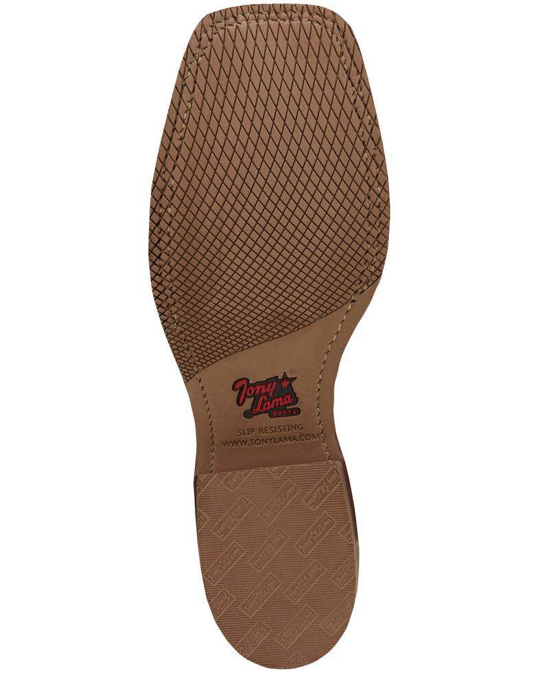 Tony Lama Men's Landgrab Western Boots - Wide Square Toe, Tan, hi-res