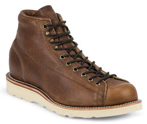 Chippewa Men's Copper Caprice Utility Bridgemen Boots - Round Toe, Copper, hi-res