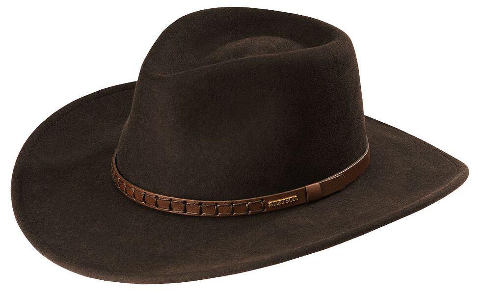 Stetson Sturgis Pinchfront Crushable Wool Felt Hat  12428e675e4