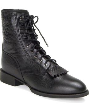 Ariat Heritage Lacer Boots, Black, hi-res