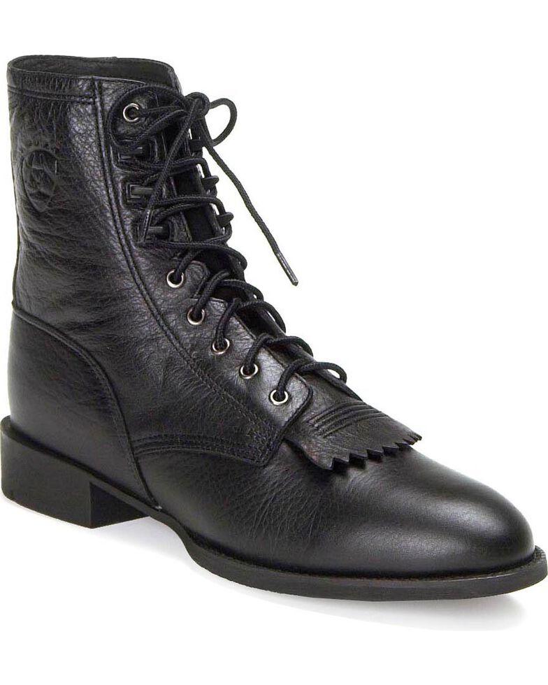 Ariat Heritage Lacer Boots, Black, hi-res