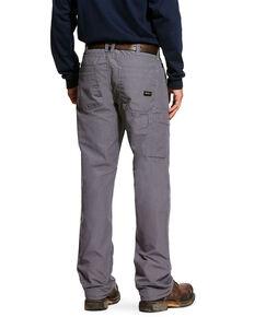 Ariat Men's FR M4 Duralight Ripstop Work Pants - Big , Grey, hi-res