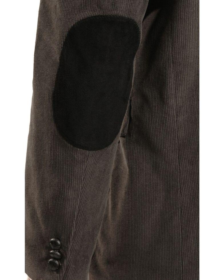 Circle S Corduroy Sport Coat - Short, Reg, Tall, Grey, hi-res