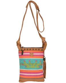 STS Ranchwear Women's Cactus Serape Crossbody, Multi, hi-res