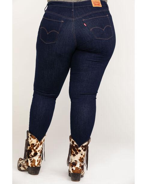 Levi's Women's Indigo Scenic Drive 711 Skinny Jeans - Plus, Indigo, hi-res