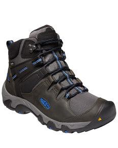 Keen Men's Steens Waterproof Hiking Boots - Soft Toe, Grey, hi-res