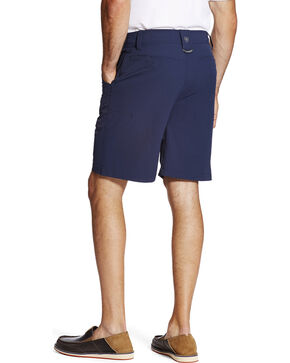 Ariat Men's Navy Heat Series Tek Airflow Shorts , Navy, hi-res