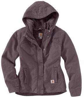 Carhartt Women's Sandstone Berkley Jacket, Plum, hi-res