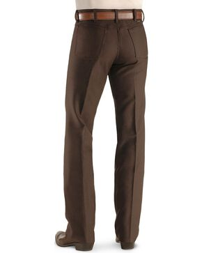 Wrangler Jeans - Wrancher Solid Regular Fit Stretch, Brown, hi-res