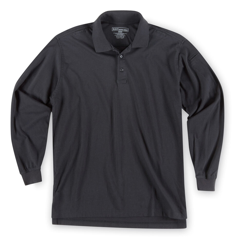 5.11 Tactical Jersey Long Sleeve Polo - 3XL, , hi-res