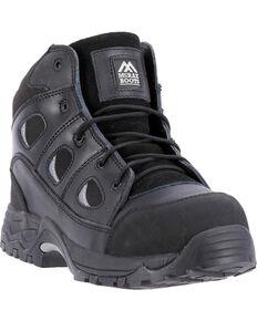 McRae Men's Non-Metallic Puncture Resistant Work Boot - Composite Toe, Black, hi-res