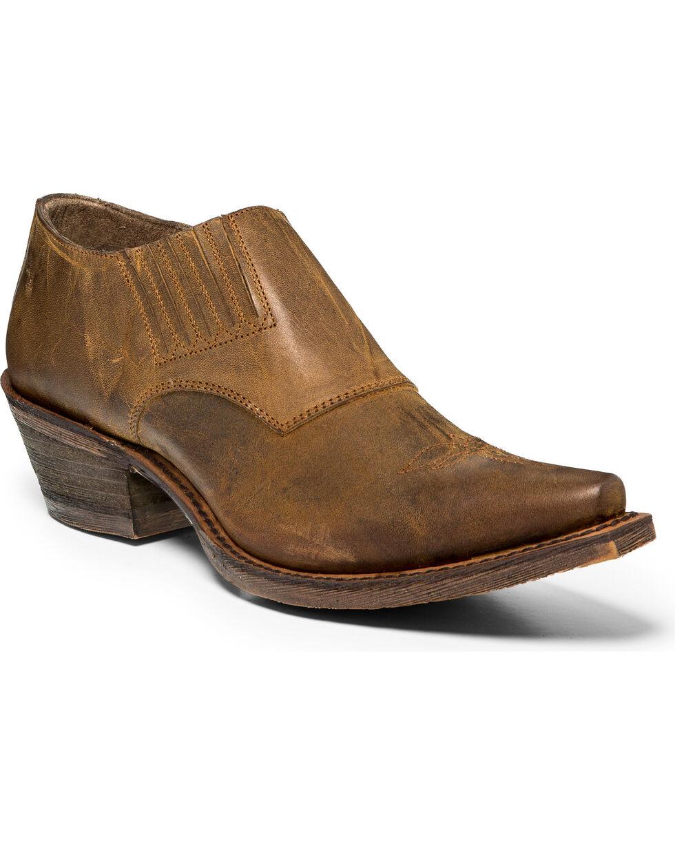 Nocona Women's Slip On Shoes Boots - Snip Toe, Tan, hi-res