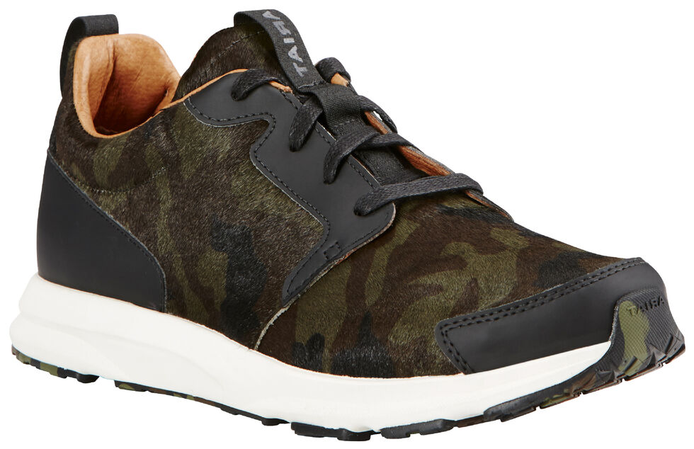 Ariat Women's Camo Suede Fusion Athletic Shoes, , hi-res
