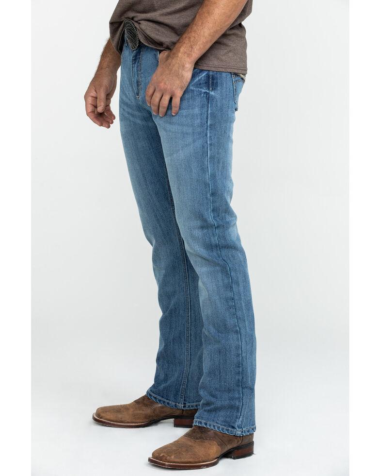 Wrangler 20X Men's Jefferson Vintage Stretch Dark Bootcut Jeans , Blue, hi-res