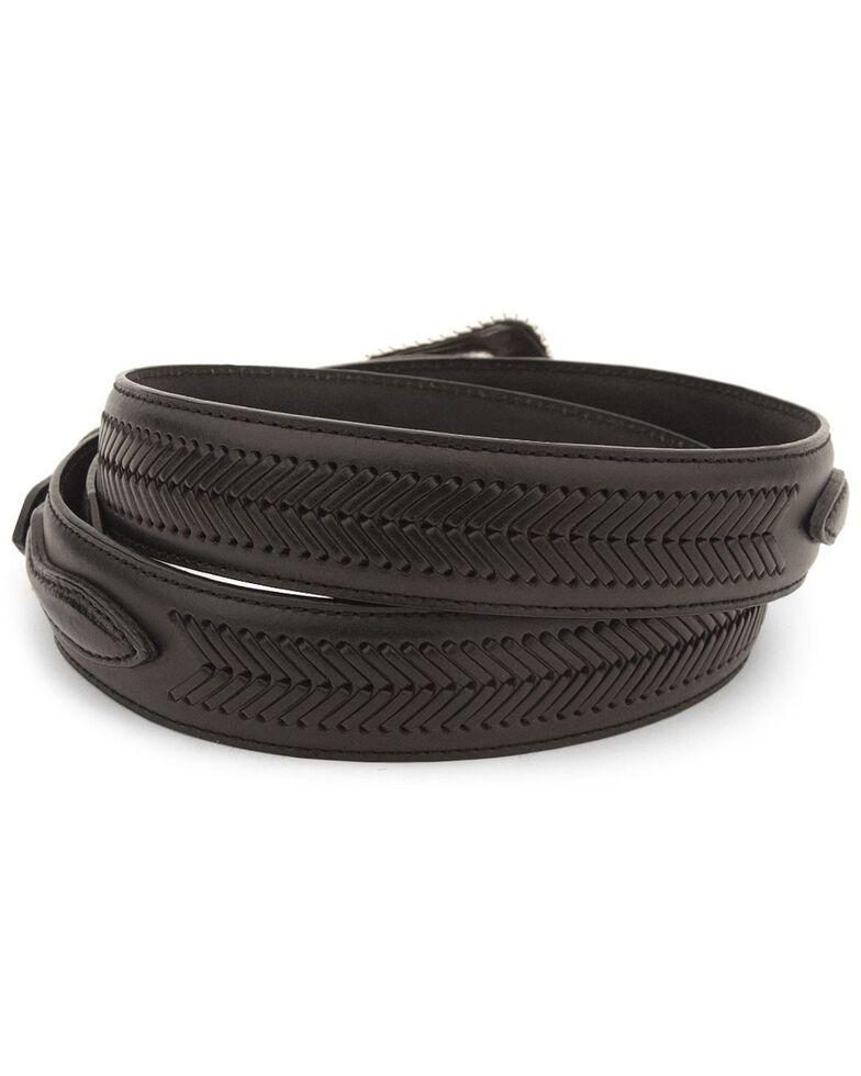 Nocona Men's Leather Ranger Belt - Reg & Big, Black, hi-res