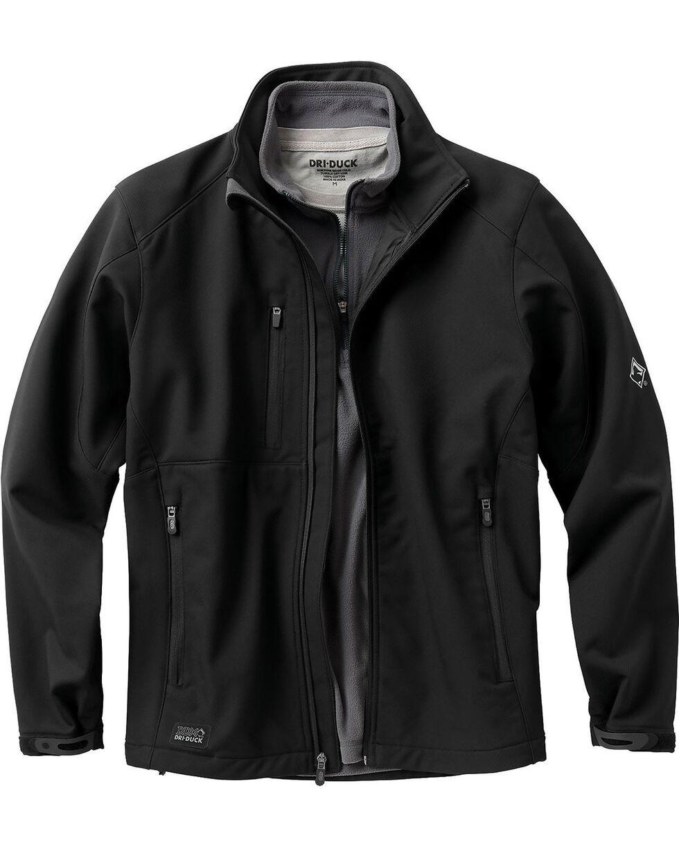 Dri Duck Men's Acceleration Waterproof Softshell Jacket, Black, hi-res