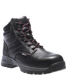 Wolverine Women's Piper Waterproof Work Boots - Composite Toe, Black, hi-res