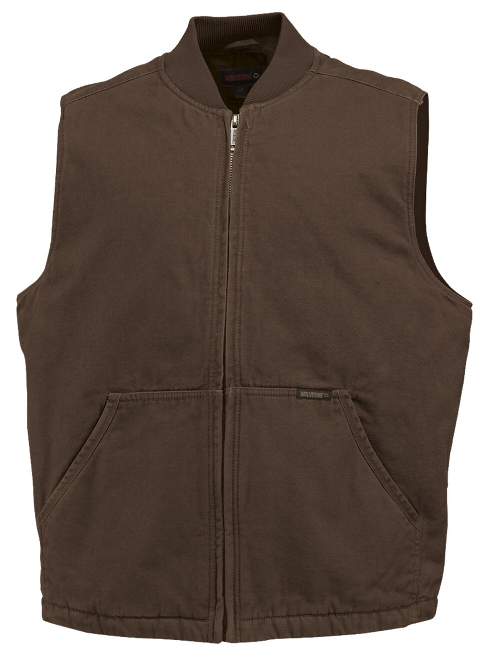Wolverine Finley Vest, Bison, hi-res