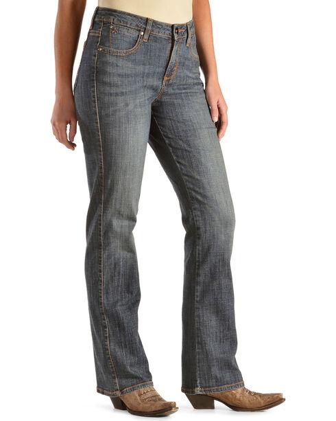 """Wrangler Jeans - Aura Instantly Slimming Denim Jeans - 30""""-34"""", Denim, hi-res"""