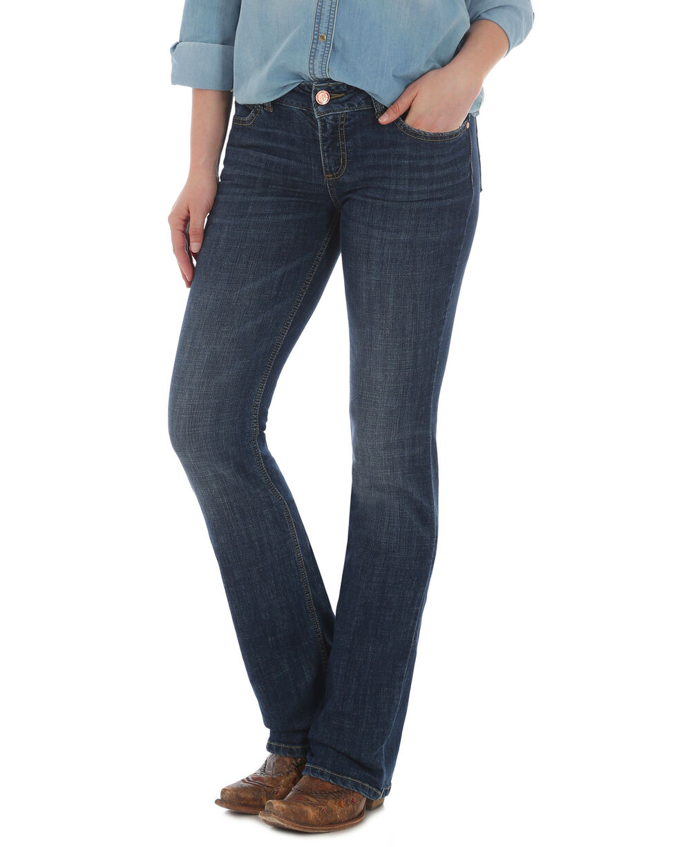 Wrangler Retro Women's Madison Mae Jeans Boot Cut Jeans , Indigo, hi-res