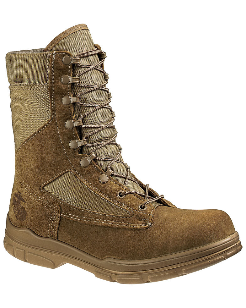 Bates Women's USMC Lightweight Durashocks Tactical Boots - Soft Toe, Olive, hi-res