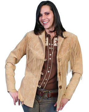 Leatherwear by Scully Women's Cheyenne Jacket - Plus, Rust Copper, hi-res