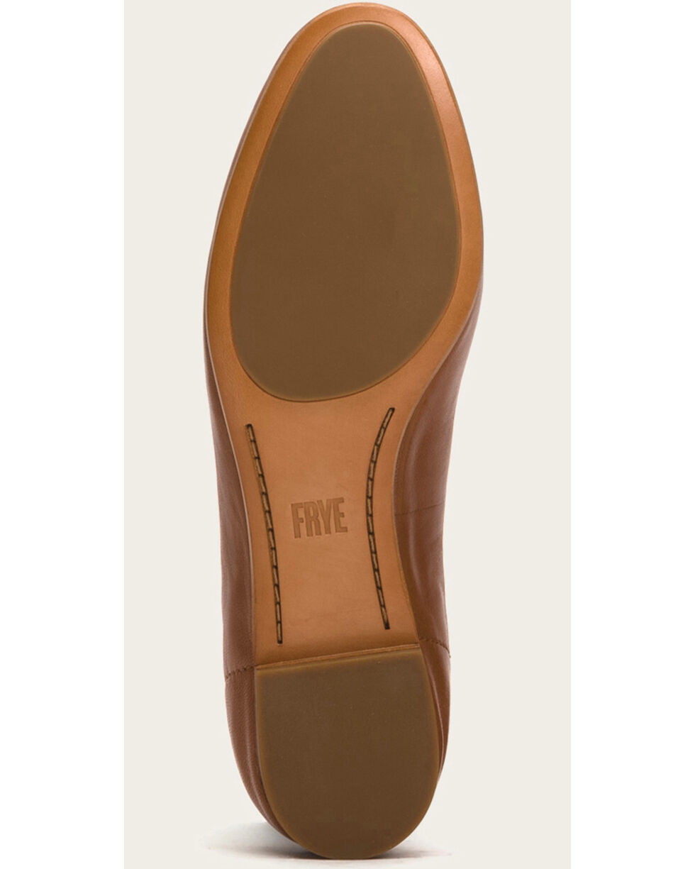 Frye Women's Cognac Gloria Ballet Shoes, Cognac, hi-res