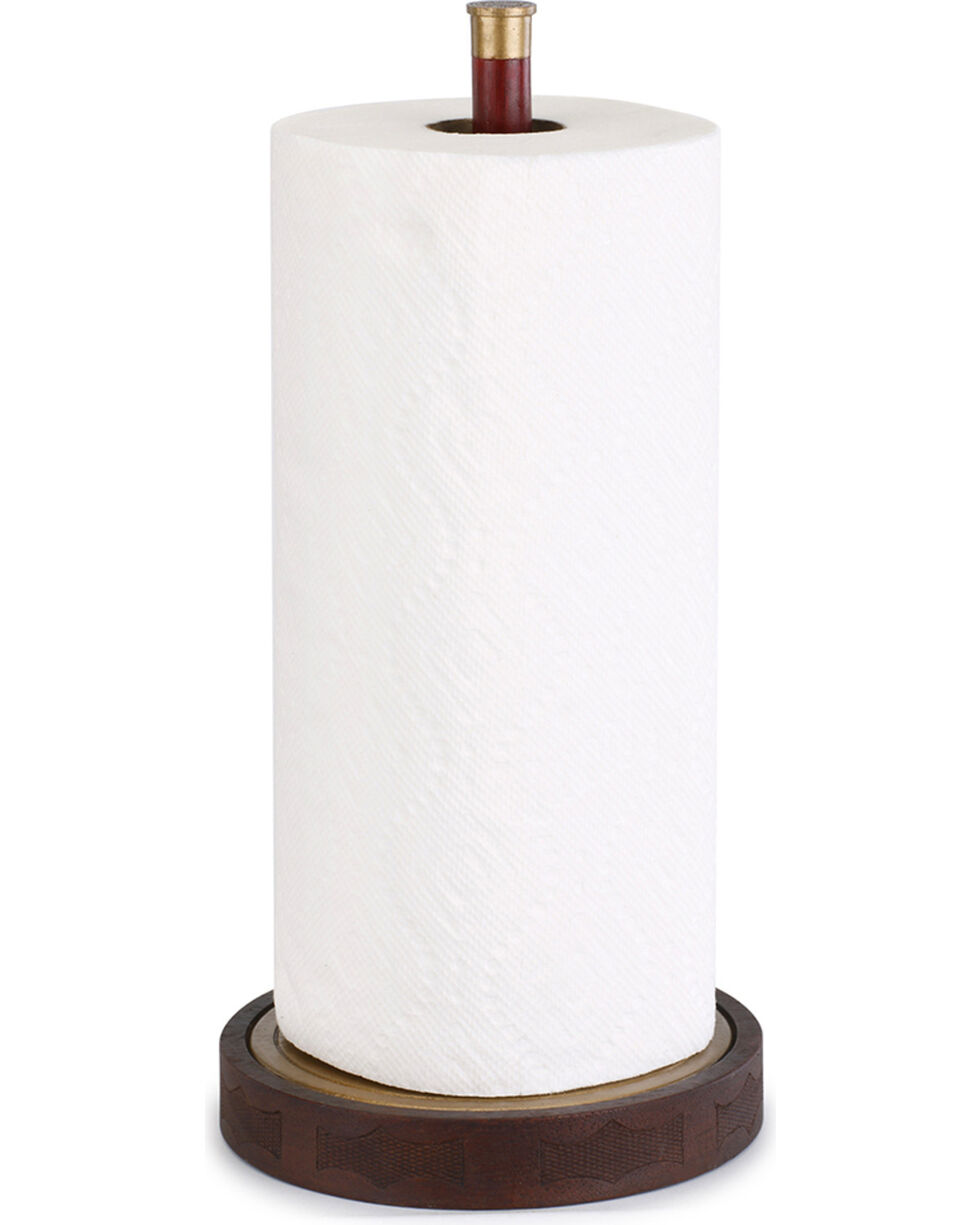 Demdaco Brown Big Shot Paper Towel Holder , Brown, hi-res