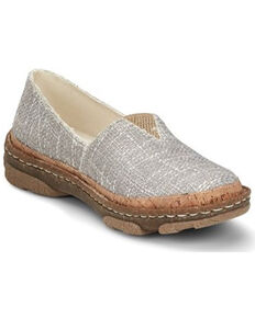 Tony Lama Women's Renata Slip-On Casual Shoes, Grey, hi-res