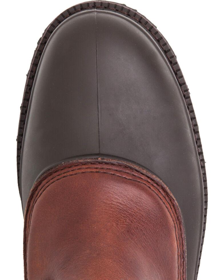 Georgia Mud Dog Work Boots - Steel Toe, Brown, hi-res