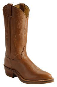 Tony Lama Western Work Boots - Medium Toe, Natural, hi-res
