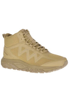 Bates Men's Rush Work Boots - Soft Toe, Coyote, hi-res