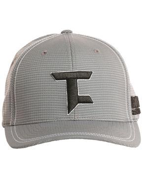 Tuff Cooper Men's Logo Embroidered Flexfit Cap, Grey, hi-res