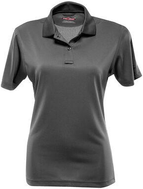 Tru-Spec Women's 24-7 Series Performance Polo Shirt, Charcoal Grey, hi-res