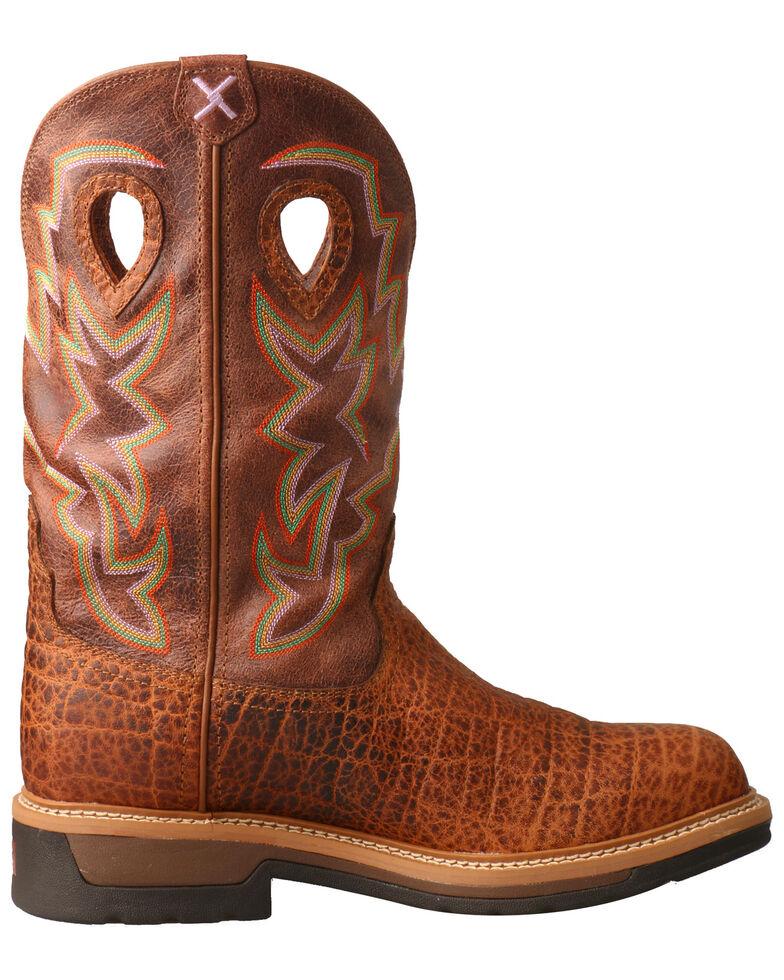 9504427b171 Twisted X Men's Lite Cowboy Elephant Print Western Work Boots - Composite  Toe