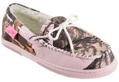 Blazin Roxx Pink Camouflage Moccasins, Pink, hi-res
