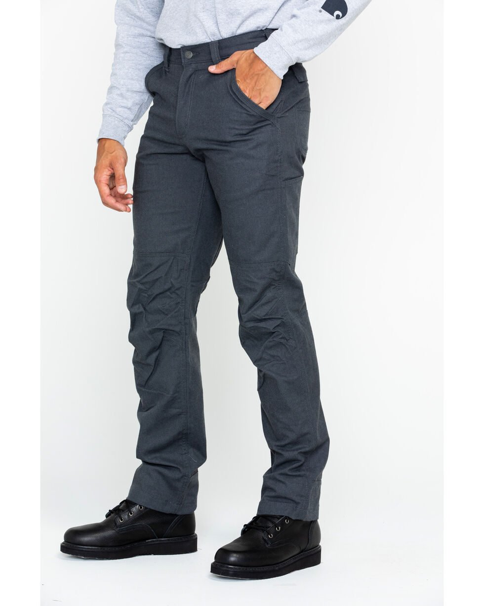 Carhartt Men's Full Swing Cryder Dungarees 2.0 - Straight Leg , Dark Grey, hi-res