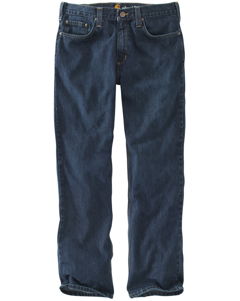 Carhartt Holter Relaxed Fit Straight Leg Jeans, Dark Stone, hi-res