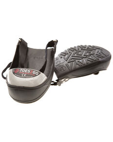 Impacto Toes2Go Steel Toe Cap - Small , Black, hi-res