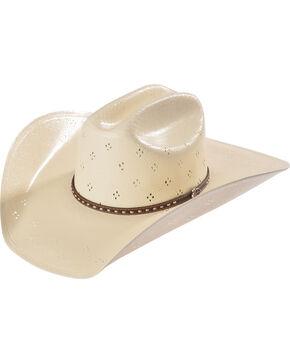 Justin Men's 20X Comstock Vented Straw Hat, Natural, hi-res