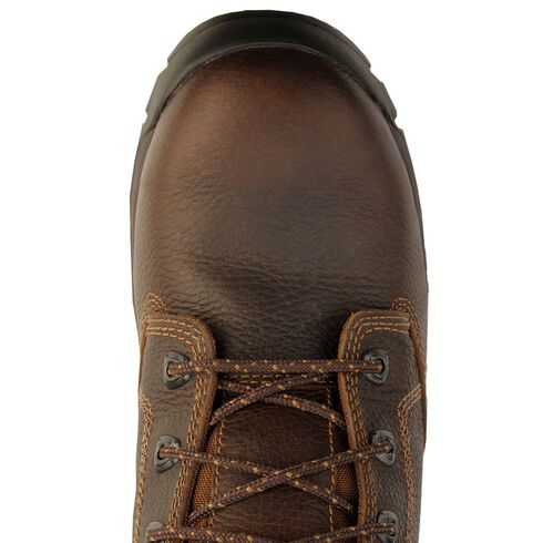 "Timberland Pro Brown 6"" Helix Boots - Composition Toe, Brown, hi-res"