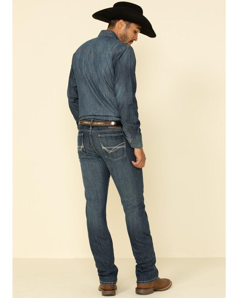 Wrangler 20X Men's No. 42 Tyler Stretch Vintage Bootcut Jeans , Blue, hi-res